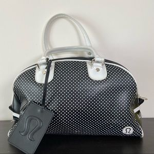 Lululemon | Vintage Carryon Duffle Bag Polkadots